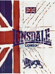 Picture of LONSDALE LION folder A4 with rubber pvc