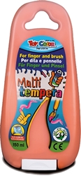 Picture of TOY COLOR finger and brush tempera 150 ml - orange