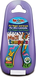 Picture of TOY COLOR finger and brush tempera 150 ml - purple
