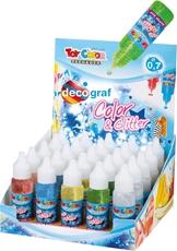 Slika od TOY COLOR magic glitter ljepilo 25 ml – stalak 30 kom