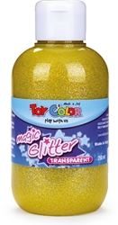 Slika od TOY COLOR TEMPERA GLITTER ŽUTA 250 ML
