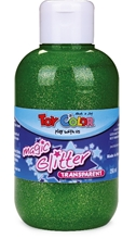 Slika od TOY COLOR TEMP. GLITTER ZELENA 250