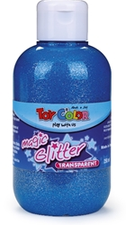 Slika od TOY COLOR TEMPERA GLITTER PLAVA 250 ML