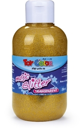 Slika od TOY COLOR TEMPERA GLITTER ZLATNA 250 ML