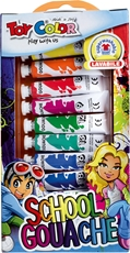 Picture of TOY COLOR tempera colors 7,5 ml 1-12