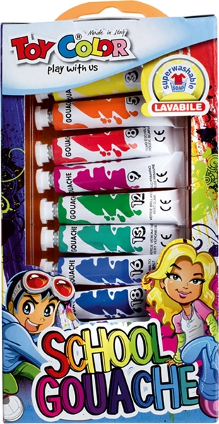 Picture of TOY COLOR TEMPERA BOJE 7,5 ML 1/12