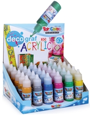 Picture of TOY COLOR acrylic metal decograf 25 ml - stand 30 pcs