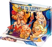 Slika od ČESTITKA 3 D Time to party
