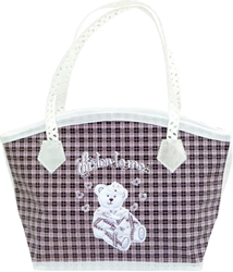 Picture of DECORATIVE eco BAG with zipper small 17 x 24,8 x 8,8 cm