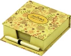 Slika od NATURE kocka s listićima + olovka HB, 10,2x10,2x3,2 cm – 150 listova