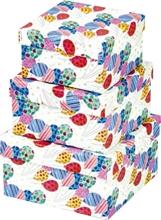 Slika od BALLONS POKLON KUTIJA SMALL - 12,2x12,2x7,5 CM