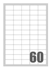 Picture of Self-adhesive labels Megastar 37,5x23,5 mm – 60 per sheet
