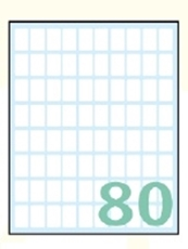 Slika SAMOLEPILNE ETIKETE EXPORT16X10-10 LISTOV, 80 NA LISTU