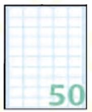 Slika od SAMOLJEPLJIVE etikete Export 20x12 mm – 10 listova, 50 na listu