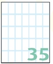 Slika od SAMOLJEPLJIVE etikete Export 28x15 mm – 10 listova, 35 na listu