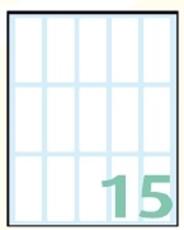 Slika EXPORT samoljepljive etikete 48x20