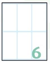 Slika od SAMOLJEPLJIVE etikete Export 74x38 mm – 10 listova, 6 na listu