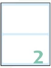 Slika od SAMOLJEPLJIVE etikete Export 118x70 mm – 10 listova, 2 na listu