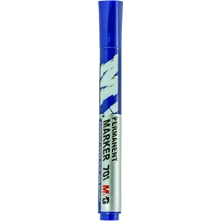 Picture of M&G 701 PERMANENT MARKER PLAVI 1/10