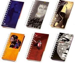 Slika od SPIRALNI blok Michael Jackson 17,5x10 cm