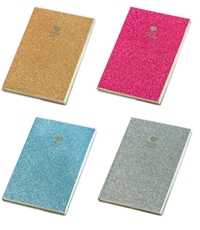 Picture of HAPPY GLITTER BLOK A6 CRTE