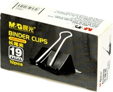 Picture of M&G BINDER CLIPS 19 MM 1/12