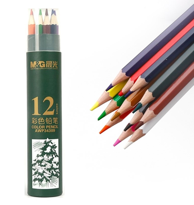 Picture for category Wooden crayons and pencils