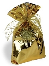 Picture of GOLD CELLOPHANE BAG 25x40 CM - 1/100