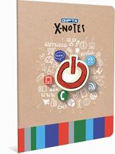 Slika od X NOTES BILJEŽNICA A4 - KOCKE