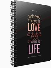 Slika od LIFE-BOOK SP. BILJEŽNICA 19x26 - CRTE