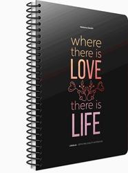 Slika od LIFE BOOK SPIRALNA BILJEŽNICA 19x26 CRTE