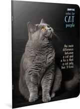 Slika od CAT BILJEŽNICA A4 - CRTE