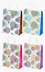 Picture of COLOR CIRCLES GIFT BAG MEDIUM