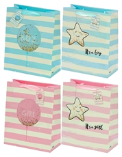 Picture of IT'S A BOY/GIRL GIFT BAG MEDIUM