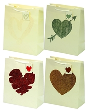 Picture of HEART GIFT BAG LARGE