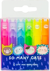 Slika M&G SO MANY CATS MINI FLUO MARKER NEON 1/6