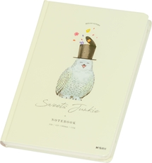 Picture of M&G PLANNER/NOTEBOOK SWEET JUNKIE OWL 12,5x18 CM