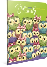 Picture of CANDY NOTEBOOK A4 LINES
