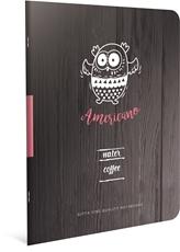 Slika od COFFE BOOK BILJEŽNICA A4 CRTE