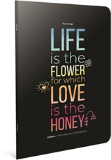 Picture of LIFE BOOK NOTEBOOK A4 LINES