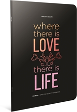 Picture of LIFE BOOK NOTEBOOK A4 SQUARED