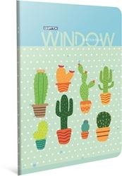 Slika od WINDOW BILJEŽNICA A4 KOCKE