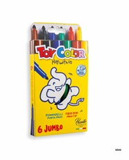 Slika od TOY COLOR JUMBO FLOMASTER 1/6