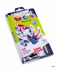 Picture of TOY COLOR tempera colors 12 ml 1-12