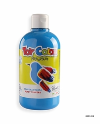 Picture of TOY COLOR tempera 500 ml blue cijan