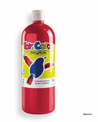 Picture of TOY COLOR tempera 1000 ml red carmine