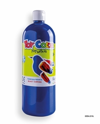 Picture of TOY COLOR tempera 1000 ml blue cobalt
