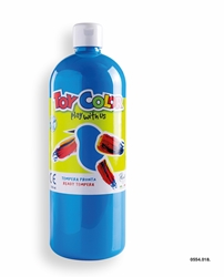 Picture of TOY COLOR tempera 1000 ml blue cijan