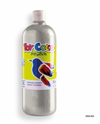 Picture of TOY COLOR tempera 1000 ml silver