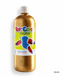 Picture of TOY COLOR tempera 1000 ml gold